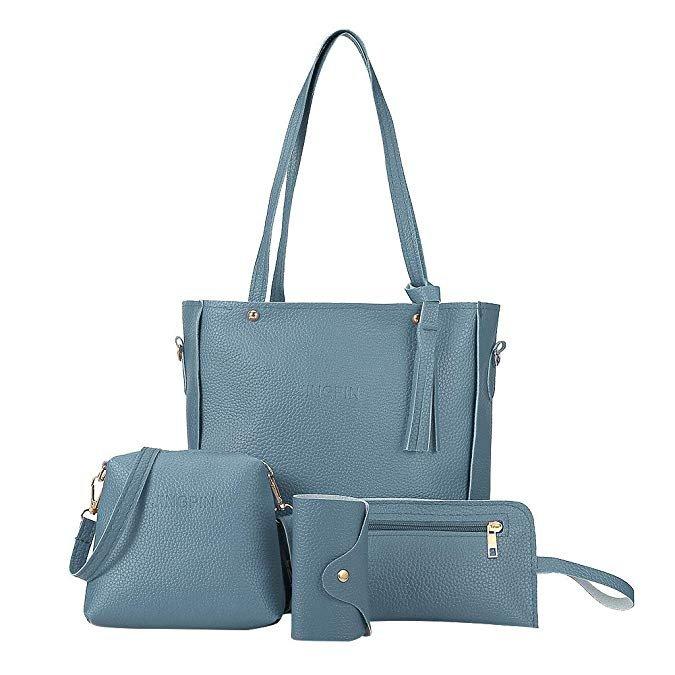 Yebutt 4-teiliges Damen Handtaschen Set (verschiedene Farben) für je 6,19€ inkl. Versand