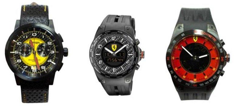 Scuderria Ferrari Herren Armbanduhr
