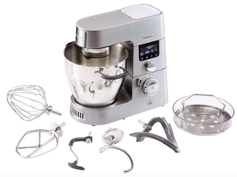 Kenwood KCC9040S Cooking Chef Gourmet Küchenmaschine mit großem Zubehör-Set für 799€ (statt 1.017€)