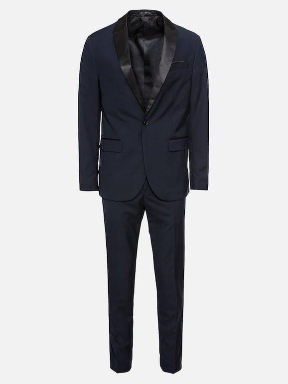 Pier One Herren Anzug in dunkelblau für 47,25€ inkl. Versand (statt 90€)