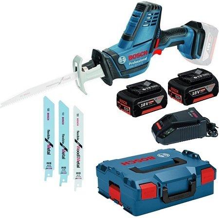 Bosch GSA 18 V-Li C Akku Säbelsäge + 2 Akkus + Ladegerät + L-Boxx für 279,95€