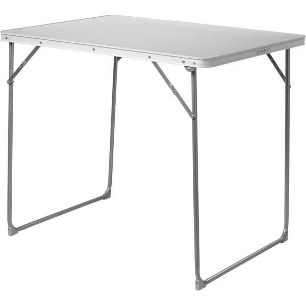 McKinley Camping-Tisch (80×60×79 cm, in Koffer-Form zusammenklappbar, mit Griff) für 15,29€