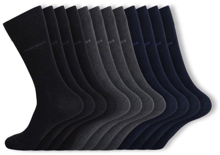 12 Paar Hugo Boss Business-Socken für 59,99€ inkl. Versand