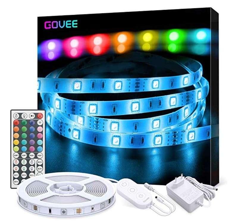 5m Govee LED Strip Kit mit Fernbedienung für 11,29€ inkl. Prime (statt 17€)
