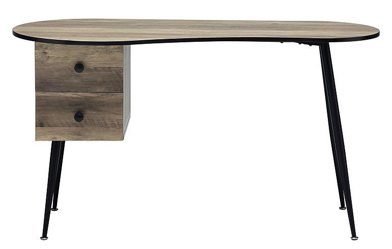 Bessagi Home Schreibtisch Kara in Grau