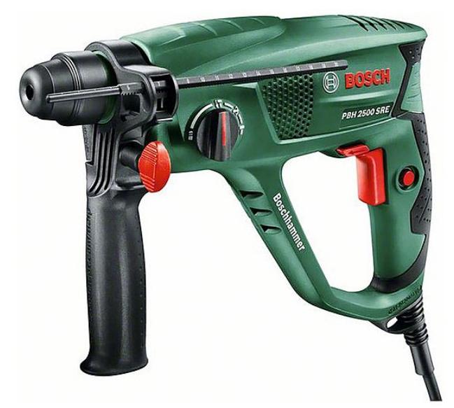 Bosch PBH Universal+ 2500 SRE Bohrhammer, 600W für 96,98€ inkl. VSK