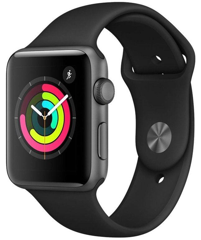 Apple Watch Series 3 GPS 42mm Sportarmband für 203,89€ inkl. VSK