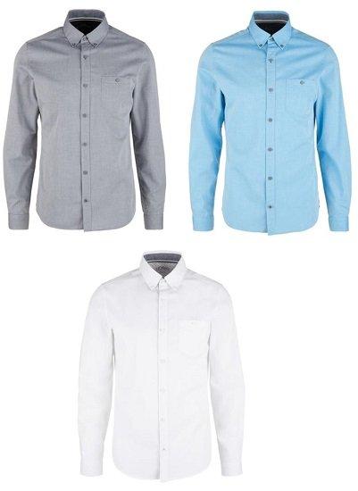 3er Pack s.Oliver Herren Hemden für 49,90€ inkl. Versand (statt 67€)