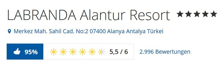 Türkei 7 Tage Alanya Urlaub 2