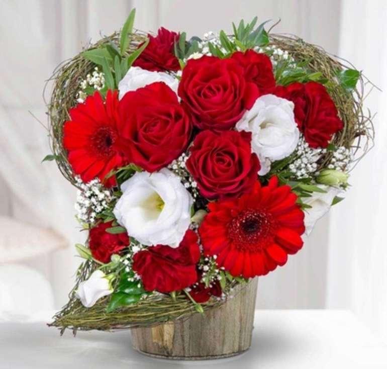 Valentins: 14,02€ Wertgutschein für das Blumen- und Geschenksortiment nur 5,60€