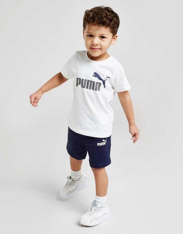 Puma Essential Logo T-Shirt- & Shorts Baby Set in 2 Farben für je 18,99€ inkl. Versand (statt 34€)