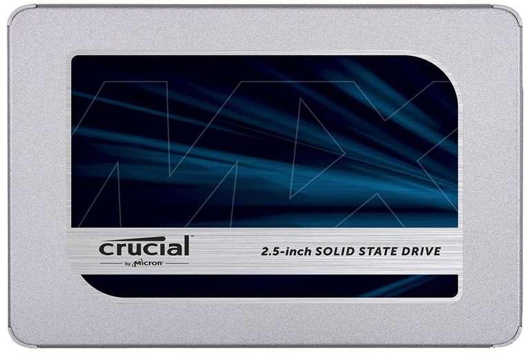 Top! Crucial MX500 SSD mit 500GB Speicher für 56,15€ inkl. Versand (statt 62€)