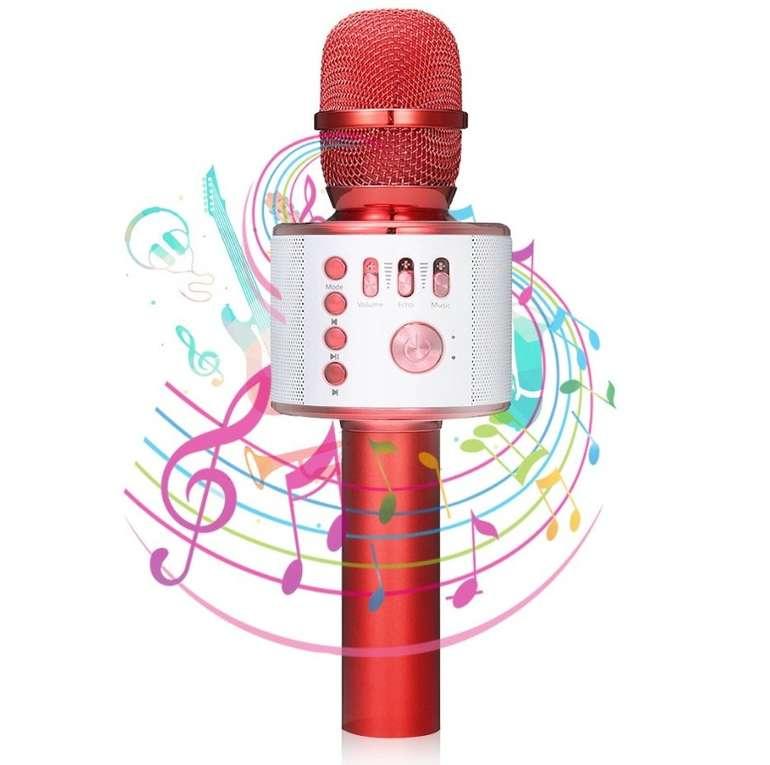 Nasum Bluetooth Karaoke Mikrofon mit Lautsprecher für 18,19€ inkl. Prime Versand