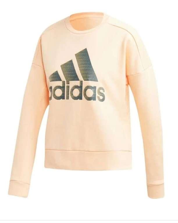 Adidas Performance Sport-Sweatshirt in apricot für 23,80€ inkl. Versand (statt 39€)