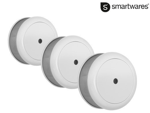 """3er Pack Smartwares Mini-Rauchmelder """"RM620"""" mit 10-Jahres-Batterie für 35,90€"""