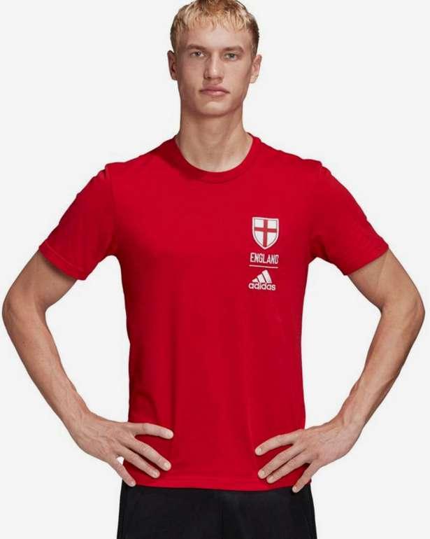 Adidas Performance England Shirt in rot für 14,99€inkl. Versand (statt 18€)