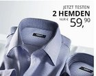 2 bügelfreie Walbusch Hemden für 65,85€ inkl. Versand