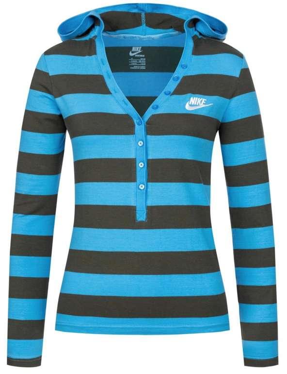 Nike Stripe Hooded Damen Longsleeve für 19,94€ inkl. Versand (statt 30€)