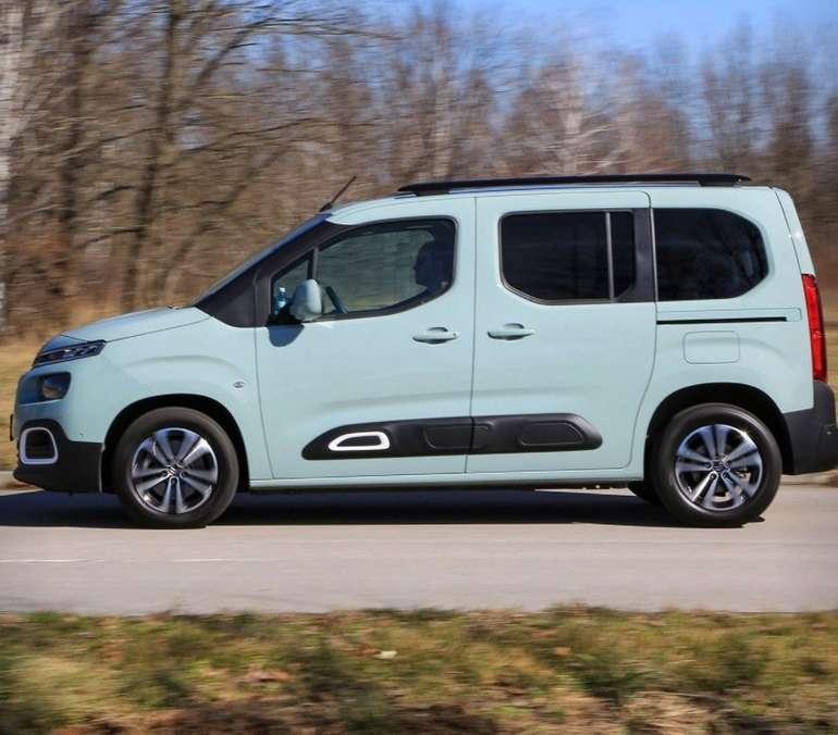 Gewerbe Leasing: Citroën Berlingo Puretech 110 Live mit 110 PS für 68,10€ Netto mtl. (LF: 0,37)