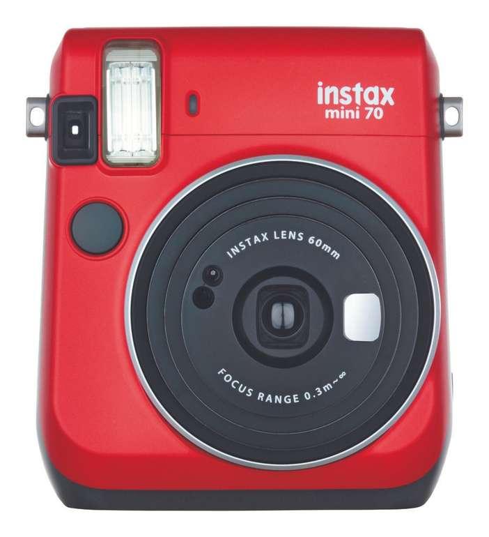 Fujifilm Instax Mini 70 rot Sofortbildkamera für 59,76€ inkl. Versand (statt 85€)