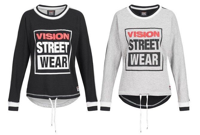 Vision Street Wear Damen Sweatshirt CL2710 je 4,44€ (2 Stk. für 13€ inkl. VSK)