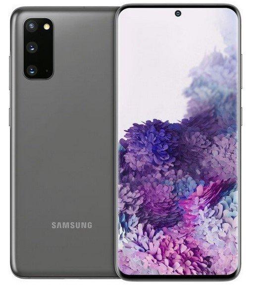 Samsung Galaxy S20 mit 128GB (77€) + Vodafone Allnet Flat mit 10GB LTE für 24,99€ mtl.