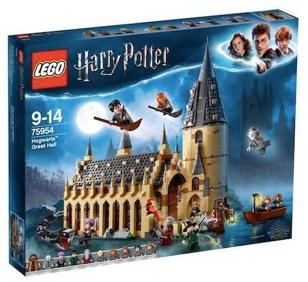 Lego Harry Potter – Die große Halle von Hogwarts (75954) für 69€ (statt 79€)