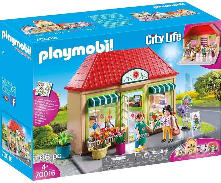 Playmobil City Life - Mein Blumenladen (70016) für 19,98€ inkl. Versand (statt 25€)