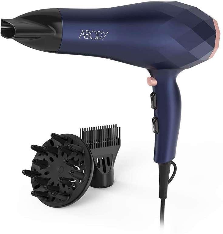 Abody Haartrockner (2200W) mit Ionen Technologie für 15,69€ inkl. Primeversand (statt 26€)