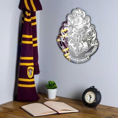 Harry Potter-Design-Spiegel mit Hogwarts-Wappen für 16,49€ (statt 30€)