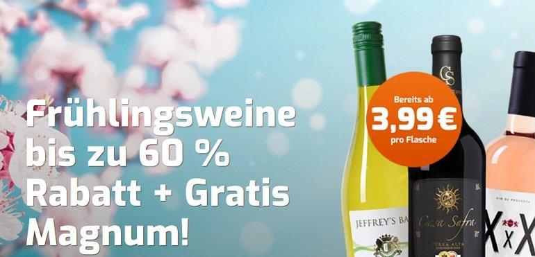 Weinvorteil Rabatt Frühlingsweine