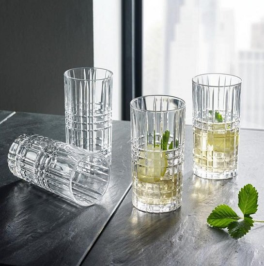 """12er Set Nachtmann """"Square"""" Longdrinkgläser aus Kristallglas für 16,80€ inkl. Versand (statt 44€)"""