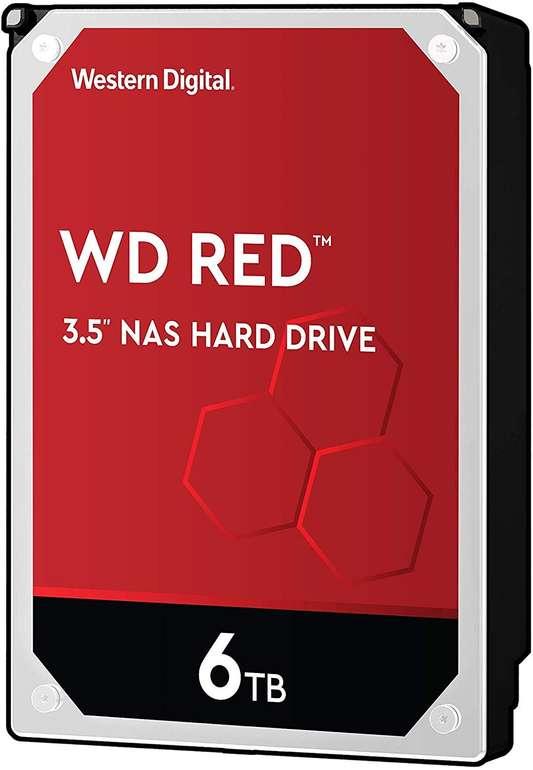 """Western Digital WD Red 3,5"""" interne Festplatte mit 6TB Speicher für 151,30€ (statt 210€)"""