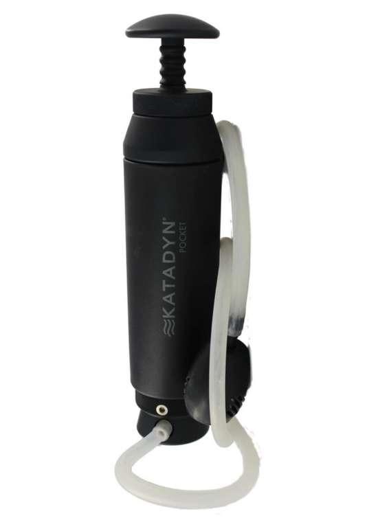 Katadyn Pocket Tactical Wasserfilter in Schwarz für 236,89€inkl. Versand (statt 260€)