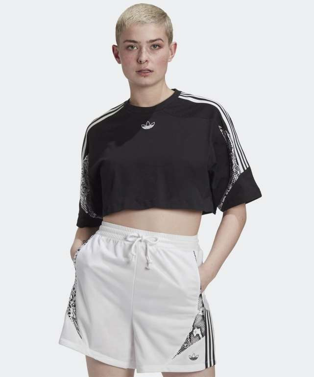 Adidas Originals Cropped T-Shirt für 13,90€ inkl. Versand (statt 22€) - Creators Club