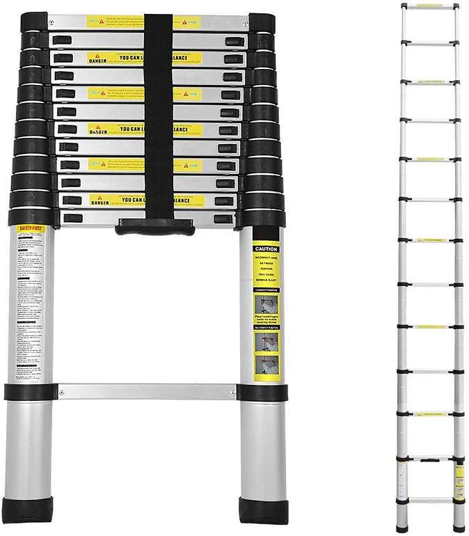 Hengda Alu-Teleskopleiter in verschiedenen Längen ab 41,29€ inkl. Versand