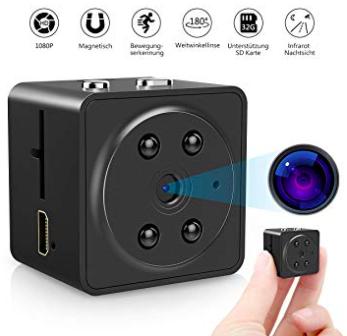 VicTsing Mini HD Kamera (IR Nachtsicht & 180° Weitwinkellinse) ab 17,99€ (Prime)