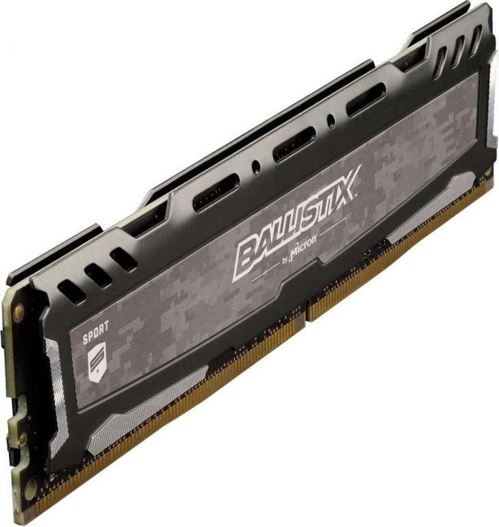 Ballistix Arbeitsspeicher Sport LT 16GB DDR4 Kit 3000 (Grau) für 60,85€ inkl. VSK (Mastercard)