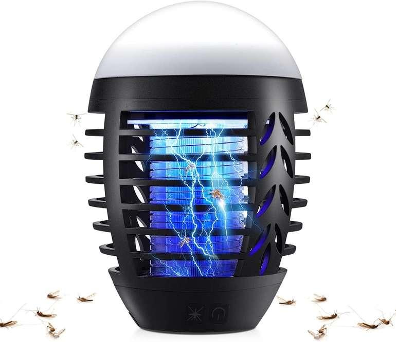 Jionchery Insektenvernichter, elektrische Mückenlampe (wasserdicht) für 14,39€ inkl. Prime Versand (statt 24€)