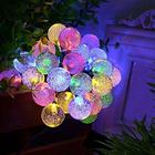 30er LED Solar Lichterkette für außen in warmweiß oder mehrfarbige für 9,09€