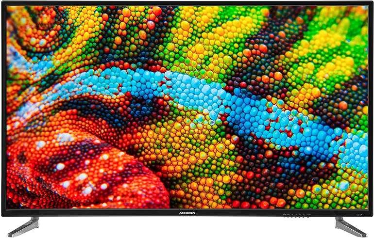 Medion P15001 – 50 Zoll UHD 4K Fernseher (Modell 2020) mit Triple Tuner für 252,94€ (statt 300€)