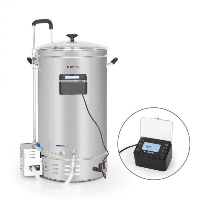 Maischekessel Bierbrauanlage (35 Liter, 2500W, Timer, Edelstahl) für 323,99€ inkl. Versand (statt 360€)