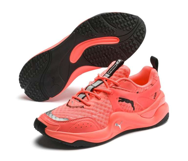 Puma Rise Neon veganer Damen Sneaker für 47,73€ inkl. Versand (statt 99€)