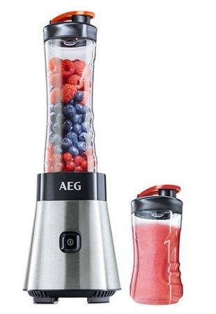 AEG PerfectMix SB4PS Mini Mixer mit 0,4 PS-Power-Motor & Trinkflasche für 29,90€