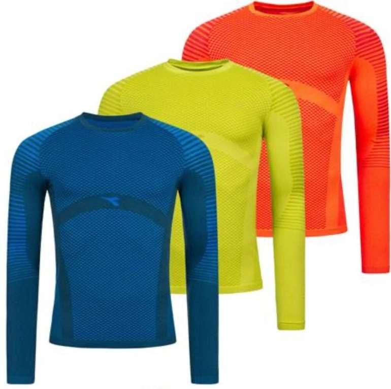 Diadora Techfit Herren Langarm Lauf Shirts für je 15,94€ inkl. Versand (statt 20€)