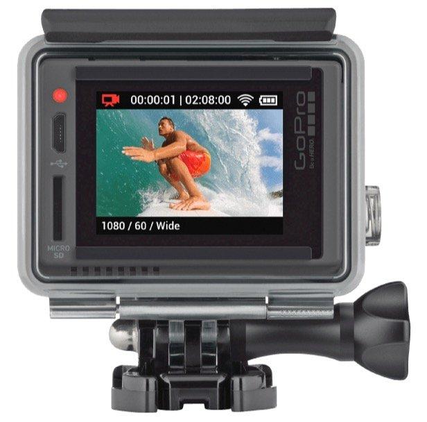 GoPro HERO+ mit LCD-Touchdisplay für 89,90€ (statt 214€) – B-Ware