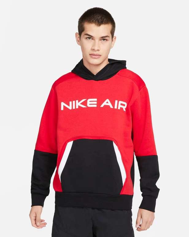 Nike Air Pullover Fleece Herren-Hoodie in Rot für 31,83€inkl. Versand (statt 49€) - Nike Membership!