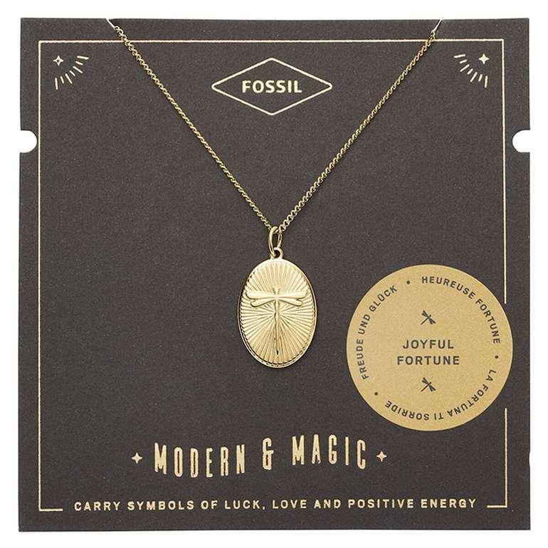 Fossil Damen Halskette Dragonfly Pendant (JF03244710) für 12€ inkl. Versand (statt 24€)