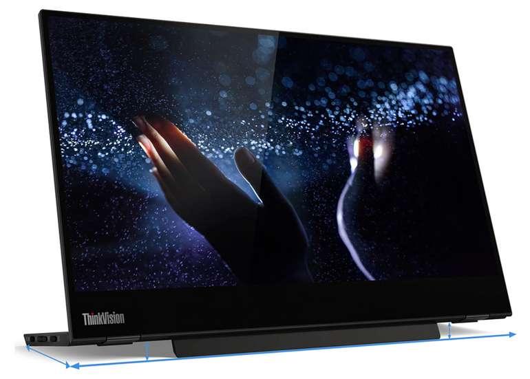 Lenovo ThinkVision M14t USB-C mobiler Bildschirm mit Touchscreen für 236,88€inkl. Versand (statt 327€)