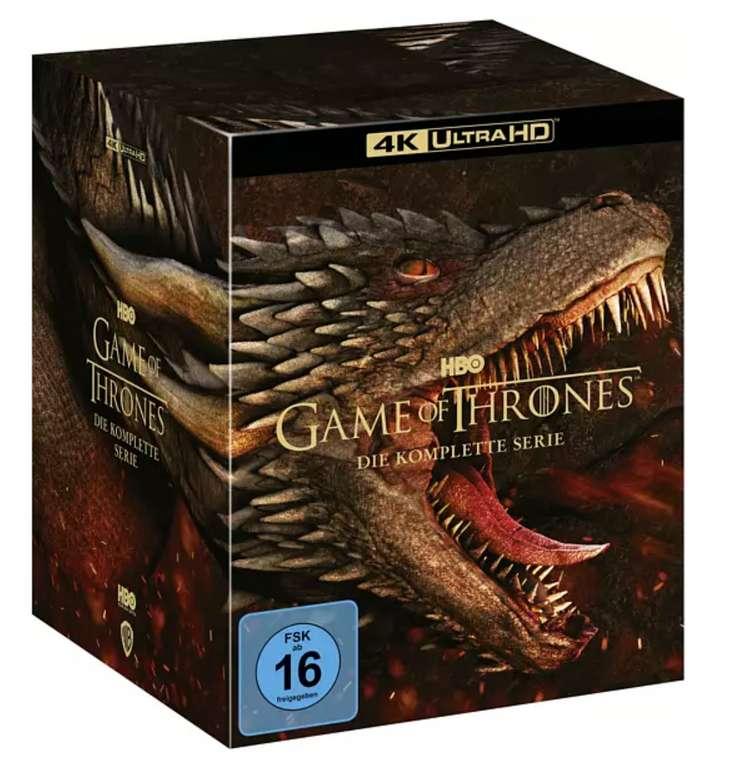 Game of Thrones - Die komplette Serie in 4K Ultra HD - Blu-Ray für 123,19€ inkl. Versand (statt 150€)